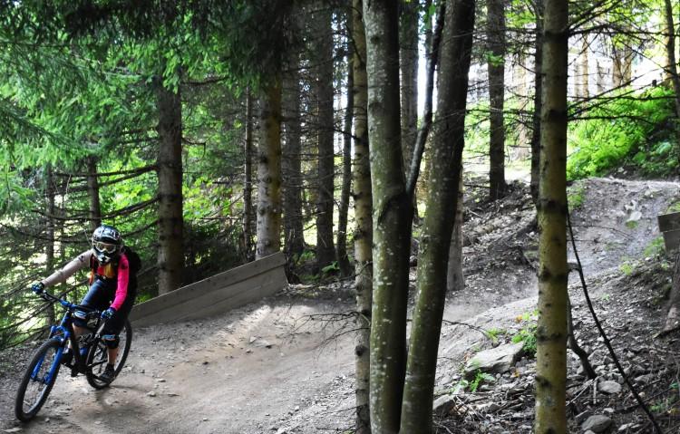 Semmering Bikepark Freeride Line